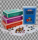Modiano poker index  carti marcate